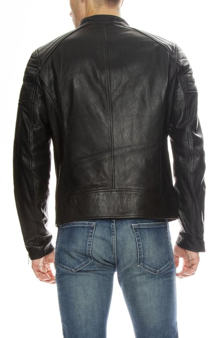 Belstaff Northcott Zip Quilted Leather Jacket