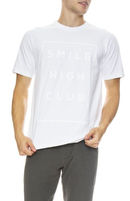 INSTED WE SMILE Smile High Club Tee - White