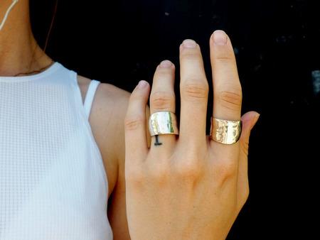Odette New York Lunate Ring - Sterling Silver