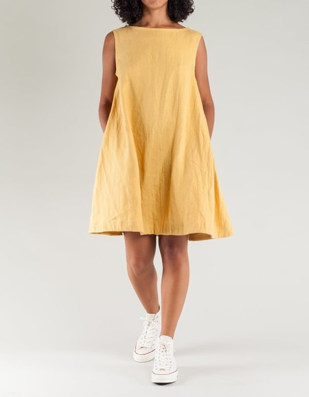 Shelter Lou Dress - Marigold