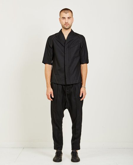 Abasi Rosborough DESERT SHIRT - BLACK