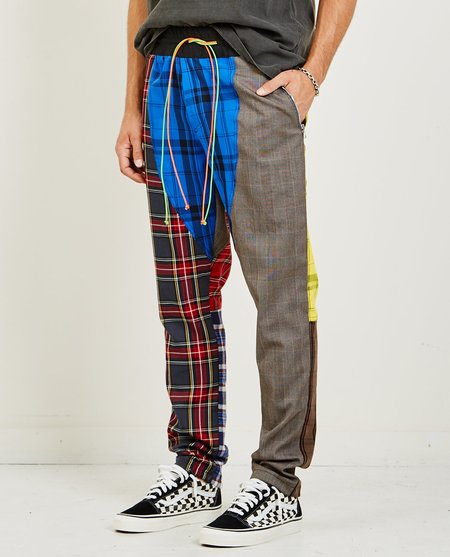 NORWOOD CHAPTERS PATCHWORK TRACK PANT - MULTI COLOR