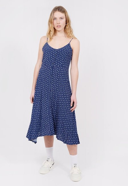 Rollas Midsummer Dress - Navy Dandelion