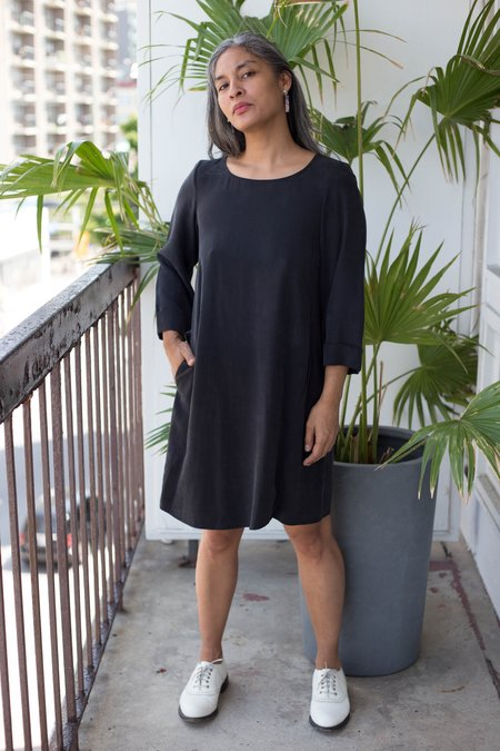 Sosie Sosie Long Sleeve Dress - Black