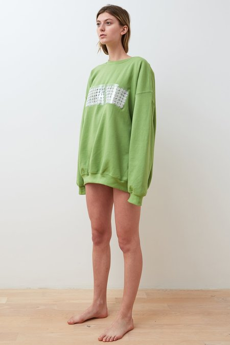 Collina Strada Case Study Sweatshirt - Kiwi Green