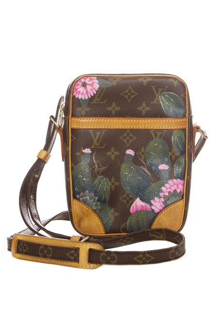 New Vintage Cactus Cross Body Bag