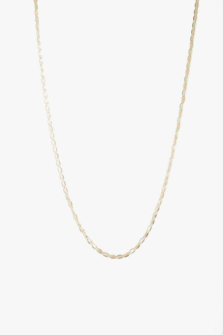 """Loren Stewart 16"""" Baby Valentino Necklace - 10k Gold"""