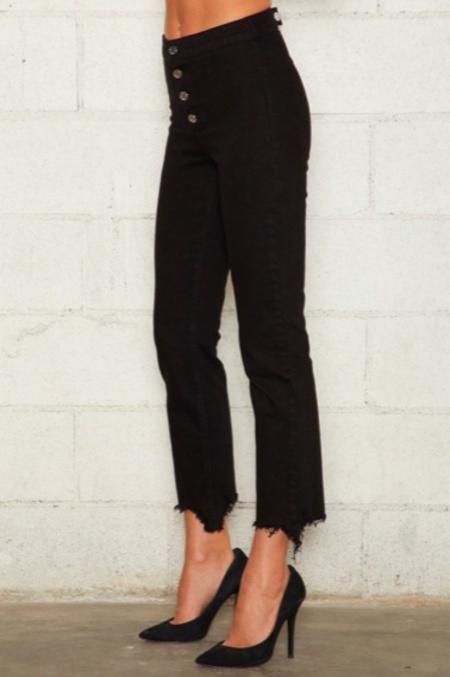 Rta Max Jeans - Jet Black