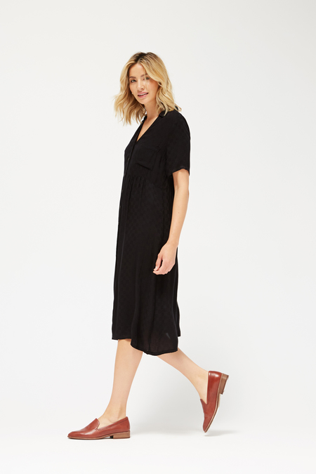 Lacausa Sonia Dress in Tar