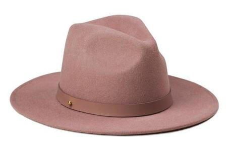 Lack of Color The Fleur Fedora Hat - Dusty Mauve