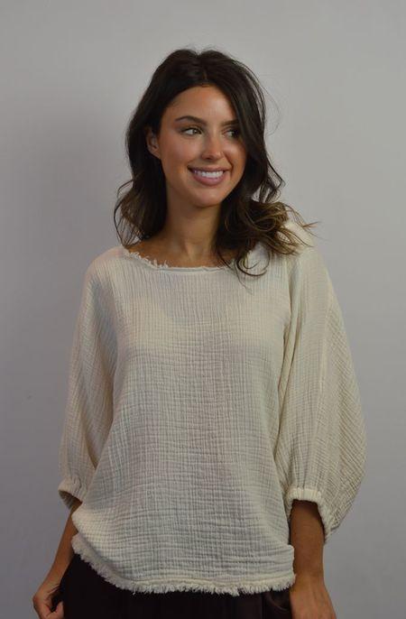 Raquel Allegra Dolman Top