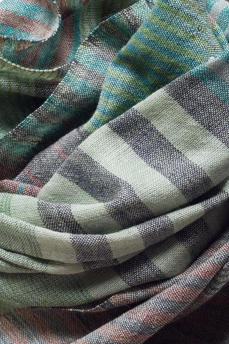 Sevya Saheli Wool Scarf - Sage