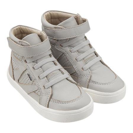 KIDS Old Soles Child Starter Shoes - Light Grey