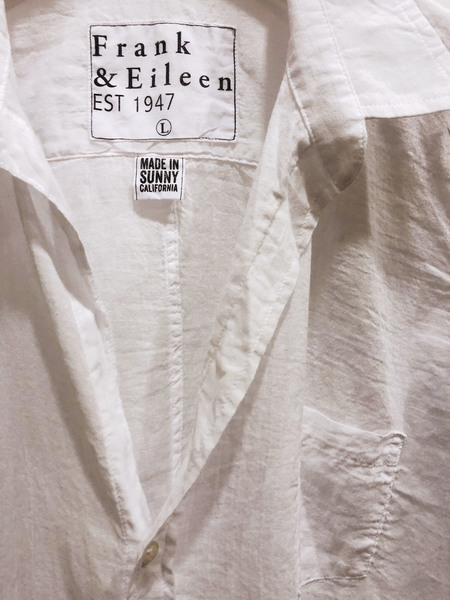 Frank & Eileen Barry shirt - White Voile