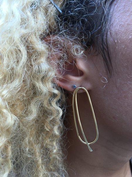 Oblik Atelier Oblik Earrings - 14k Plated Brass