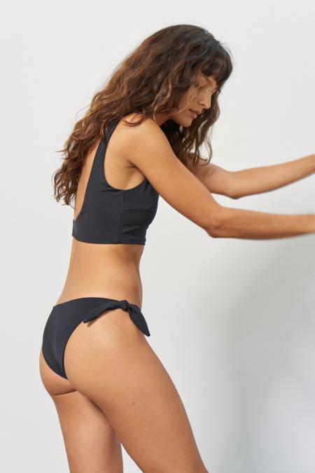Mara Hoffman Sita Bikini Bottom - Black