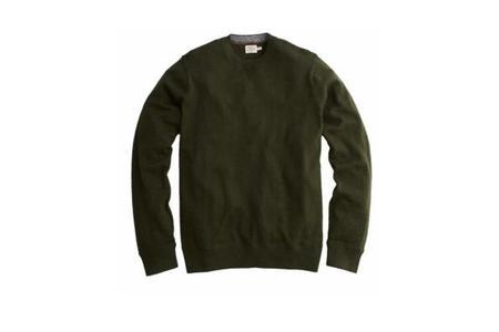 Faherty Brand Sconset Crew Sweater - Spruce