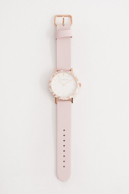 The Horse Resin Watch - White/Baby Pink