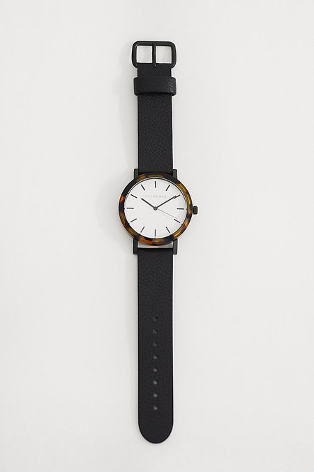 The Horse Resin Watch - Tortoise/White