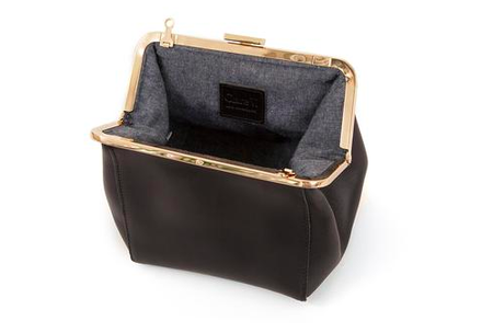 Clare V. Le Box Bag - BLACK