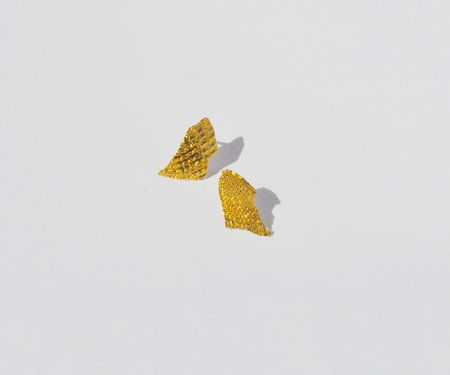 Brigitta Fragment Earrings - Gold
