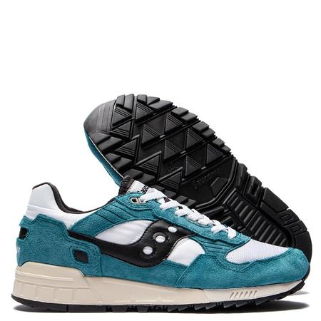 Saucony Shadow 5000 Vintage Shoes - Teal/White
