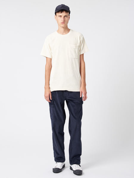 A Kind Of Guise Kaika T Shirt - Off White Velour