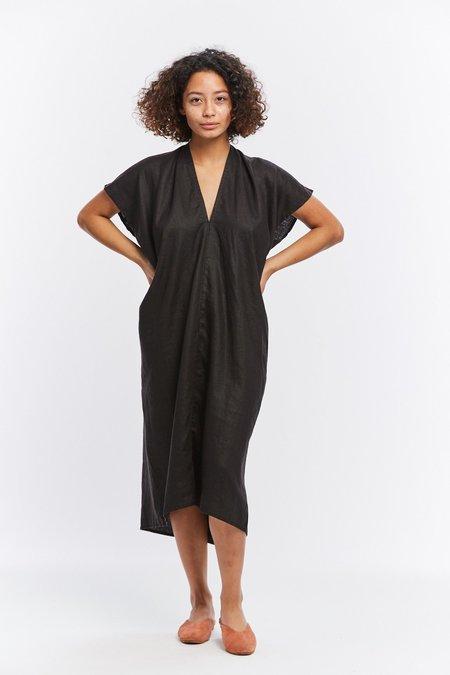 Miranda Bennett Ed. VIII Linen Everyday Dress - Black