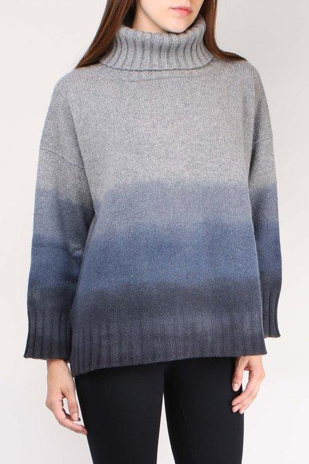 Alonpi Cashmere Puny Pullover - Blue Multi