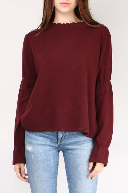 Sibel Saral YLM Sweater - Wine