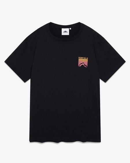 Penfield Caputo Graphic T-Shirt - Black