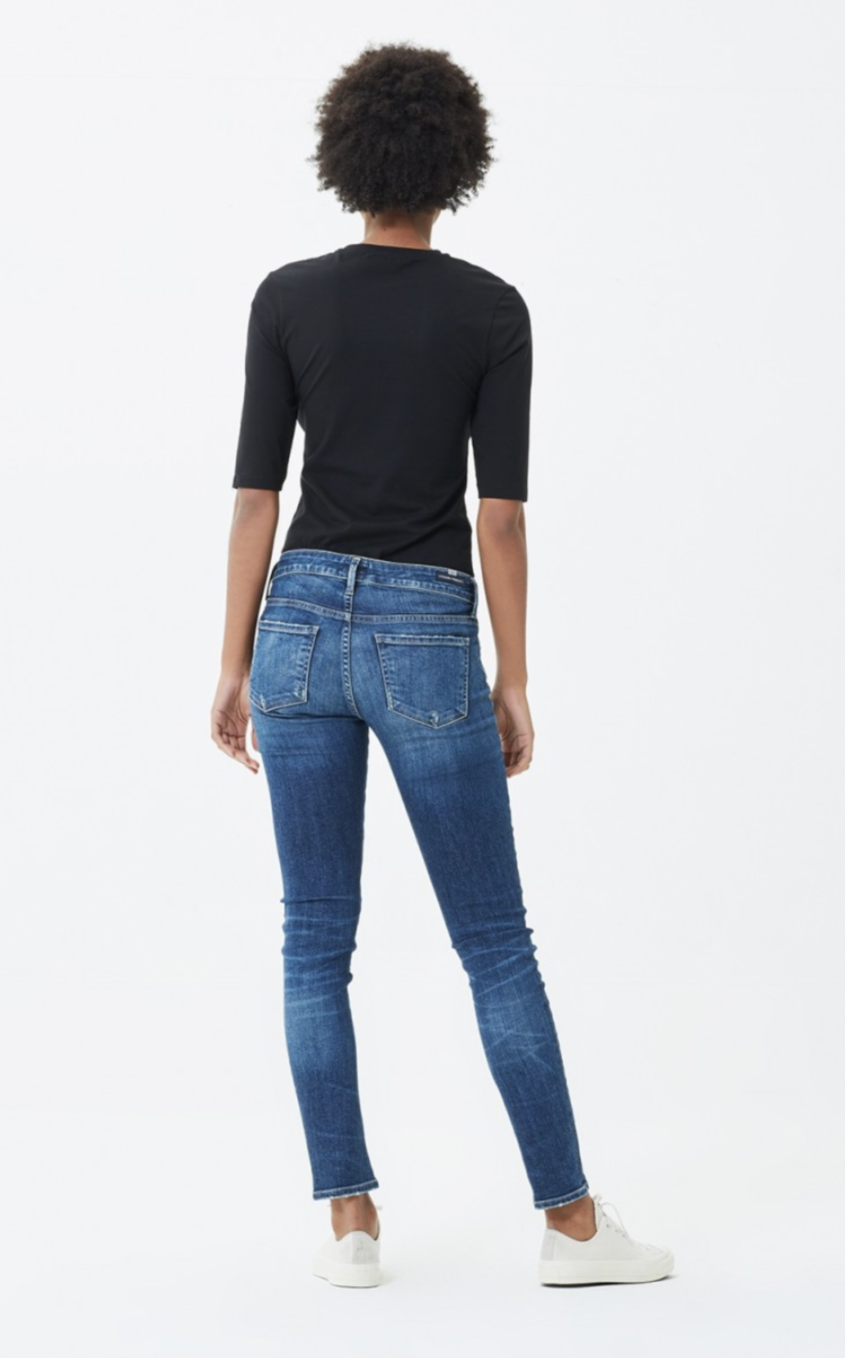 f07aa14b1b11 Citizens of Humanity Racer Low Rise Skinny Jeans - Caspian
