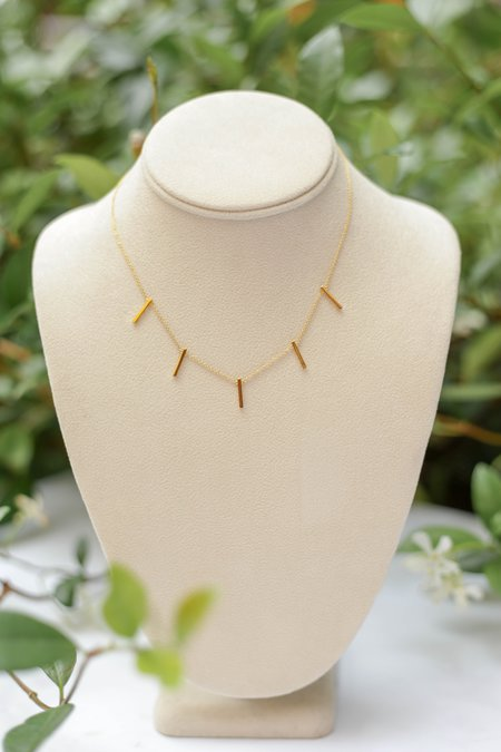 Jurate Brown Station Anna Lou Necklace