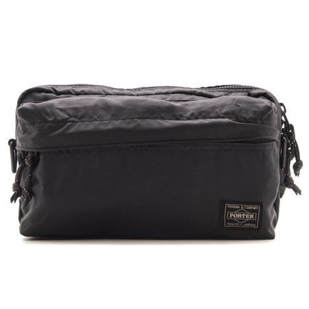 Porter Force 2Way Waist Bag - Black
