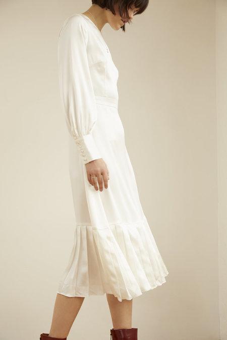 KELLY LOVE Falling Snow Dress - WHITE