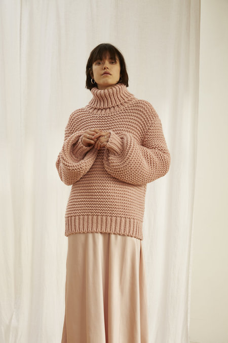 KELLY LOVE Sunrise Knit SWEATER - PINK