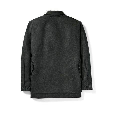 Filson Mackinaw Cruiser Jacket - Charcoal