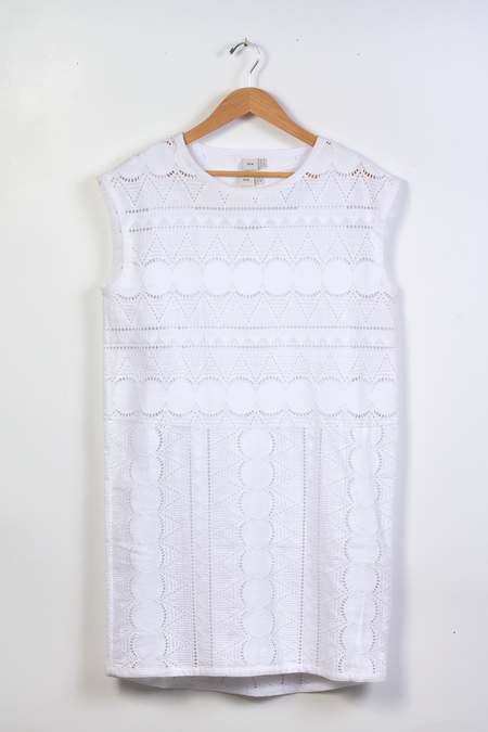 Elk Broderie Anglaise Dress