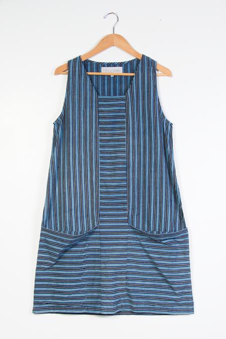 Bhoomki Leela Dress - Indie Stripe