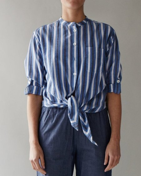 M.PATMOS Krasner Shirt - BLUE STRIPE