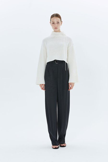 Dion Lee Aviation Oversized Sweater - IVORY