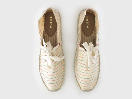 Espadrilles with Laces