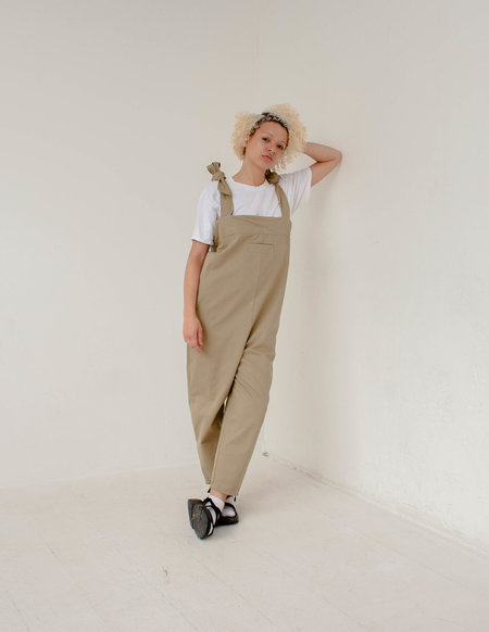 The General Public Wader Overalls - Khaki