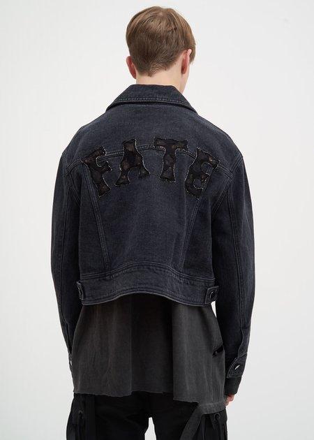 Hyein Seo Denim Trucker Jacket - BLACK WASH