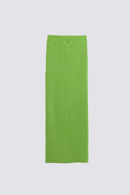 giu giu Nonna Tube Skirt - Celery