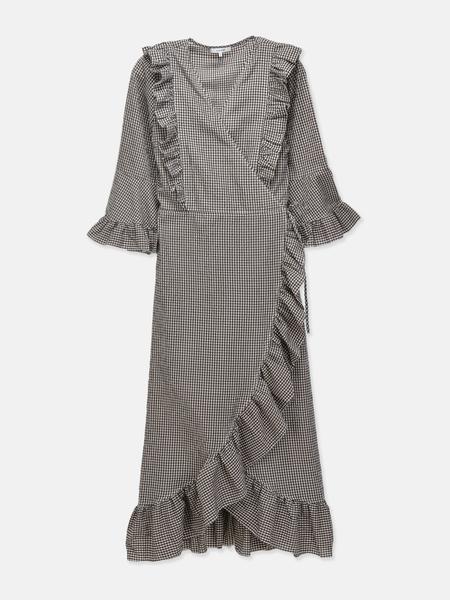 Ganni Charron Dress - Ganache
