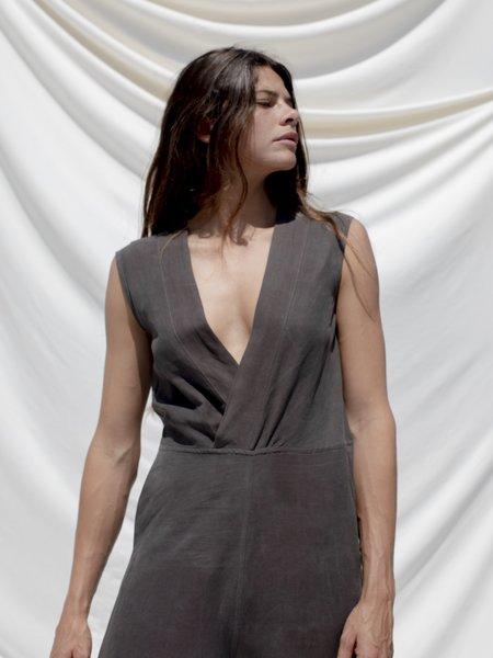 Ozma Kimono Silk Linen Romper