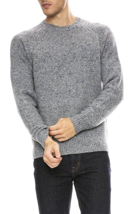 Alex Mill Alpaca Wool Blend Donegal Sweater - STONE FLAG