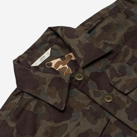 3Sixteen Fatigue Overshirt - Frog Camo