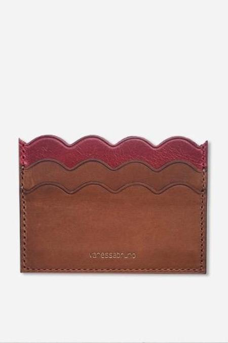 Vanessa Bruno Card Holder - Ruby/Wildcat